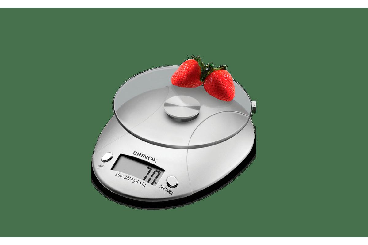 Loja Brinox Balança Digital para Cozinha 3 kg Balanças brinox #C81B03 1200x800 Balança De Banheiro Digital Joycare