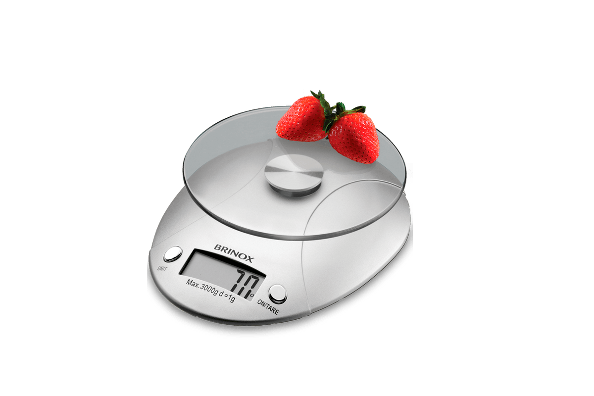 Loja Brinox Balança Digital para Cozinha 3 kg Balanças brinox #C81B03 1200x800 Balança De Banheiro Lojas Americanas