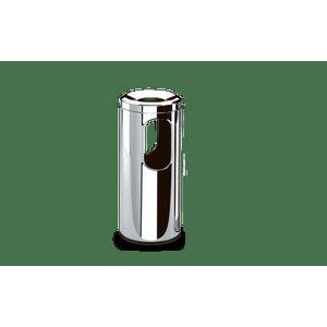 Cinzeiro-Papeleiro-Inox---Decorline-Lixeira-Ø-20-x-59-cm
