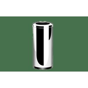 Lixeira-Inox-com-Aro-405-Litros---Decorline-Lixeiras-Ø-30-x-60-cm