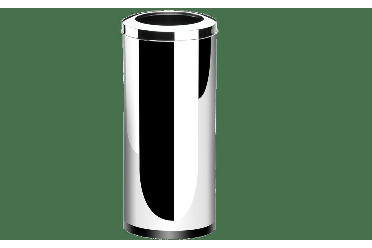 Lixeira-Inox-com-Aro-47-Litros---Decorline-Lixeiras-Ø-30-x-70-cm