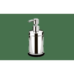 Porta-Sabonete-Liquido-Inox---Decorline-Banheiro-Ø-75-x-17-cm-250-ml