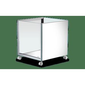 Cachepot-Quadrado-de-Inox-e-Vidro---Decorline-Lixeiras-45-x-45-cm