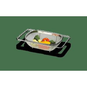 Cesto-para-Lavar-Frutas-e-Verduras-Aco-Inox---Verona-Aberto-56-x-245-x-11-cm---Fechado-36-x-245-x-11-cm