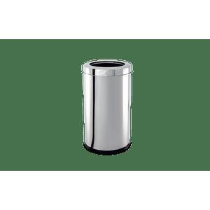 Lixeira-Inox-com-Aro-54-Litros---Decorline-Lixeiras-Ø-185-x-20-cm