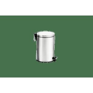 Lixeira-Inox-com-Pedal-e-Balde---Standard-Ø-25-x-40-cm