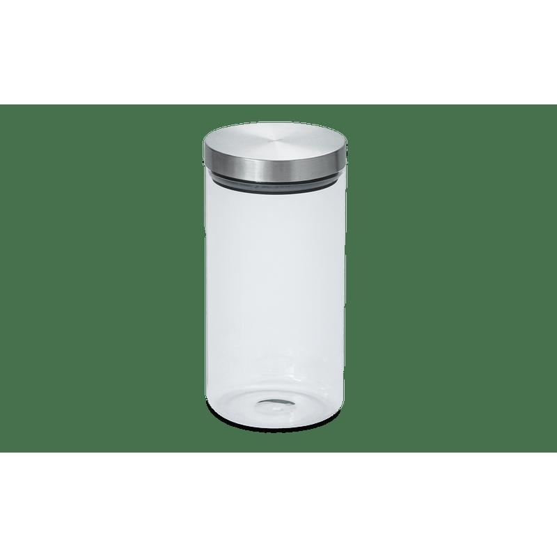 Pote-de-Vidro-Borosilicato-com-Tampa-Inox---Potes-Ø-115-x-24-cm-25-L