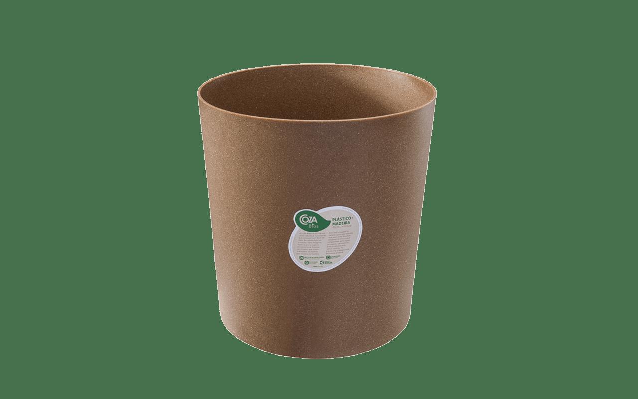 Práticos e leves, valorizam qualquer decoração com suas linhas suaves e simples. Podem ser usados como cesto de lixo, organizador, suporte para vasos de plantas ou o que a imaginação mandar.