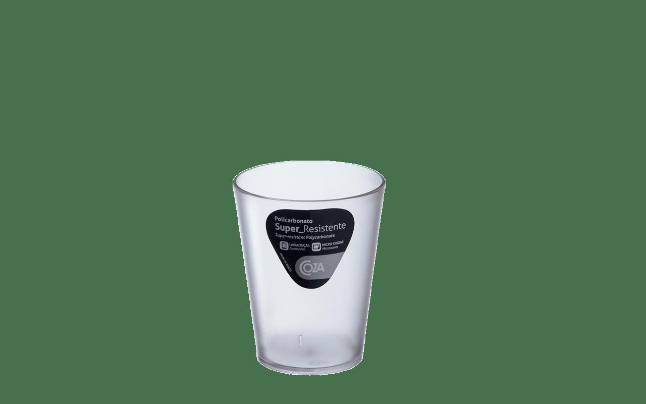 Desenhado para economizar espaço, esse copo é leve, fácil de transportar e tem encaixe perfeito para guardar. É extremamente resistente, podendo ser usado no micro-ondas e na lava-louça. Produzido em acrystex, material que possui como característica a grande resistência ao impacto e a durabilidade.
