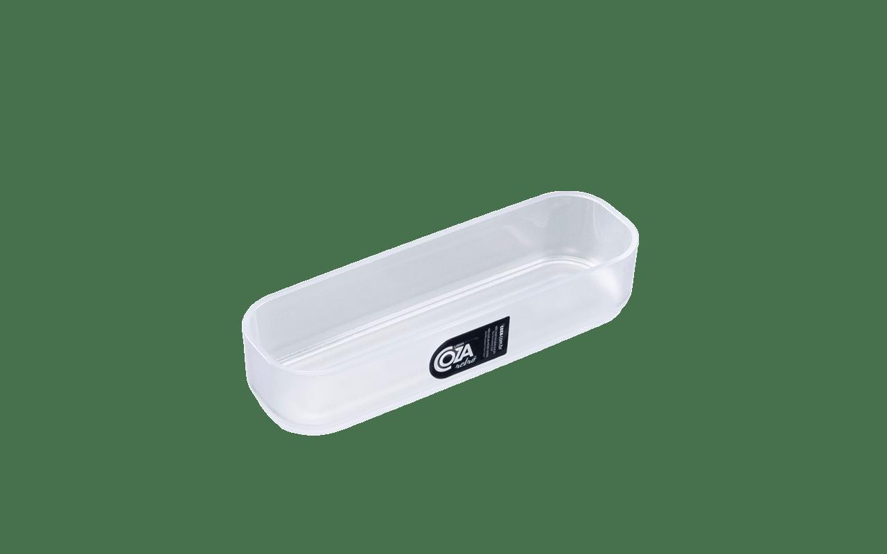 Disponíveis em três tamanhos, os organizadores Spazio da Coza são perfeitos para otimizar os espaços de gavetas, prateleiras e armários.
