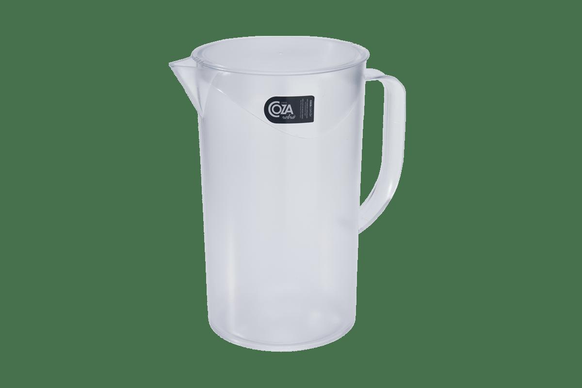 Um produto indispensável para o verão, a Jarra de 2L oferece transparência e sofisticação na hora de servir deliciosas bebidas.
