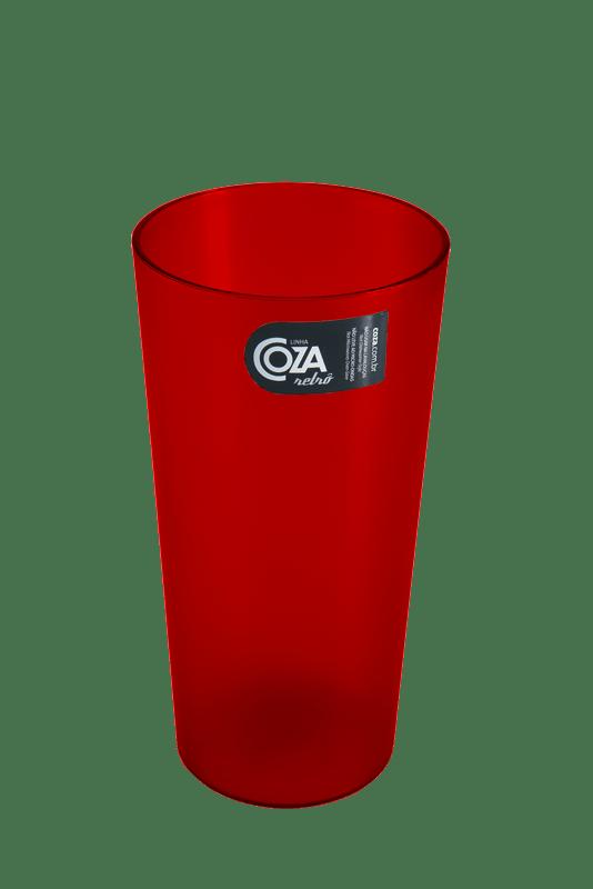 O Copo 500 ml é leve e prático, perfeito para servir qualquer tipo de bebida.