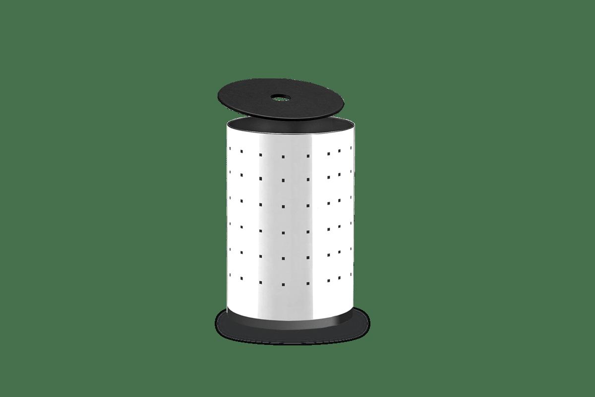 Cesto-para-Roupas-com-Rodizio-e-Fundo-Plastico---Alpha-Ø-35-x-55-cm