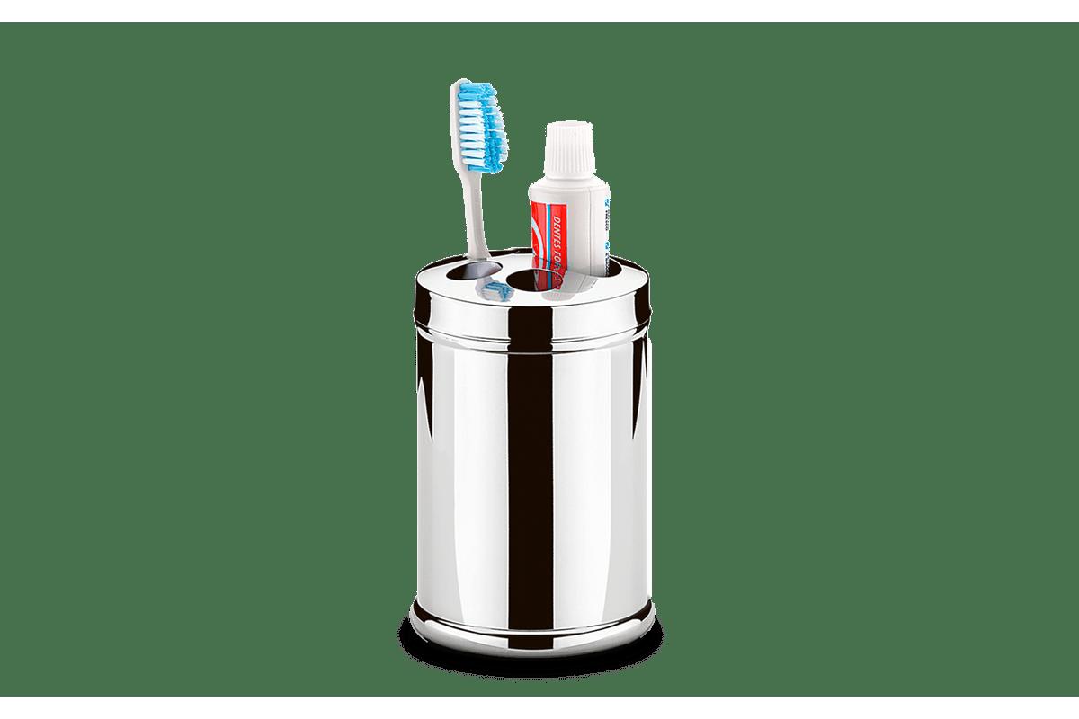 Porta-Escova-Creme-Dental-Inox-Ø-85-x-128-cm