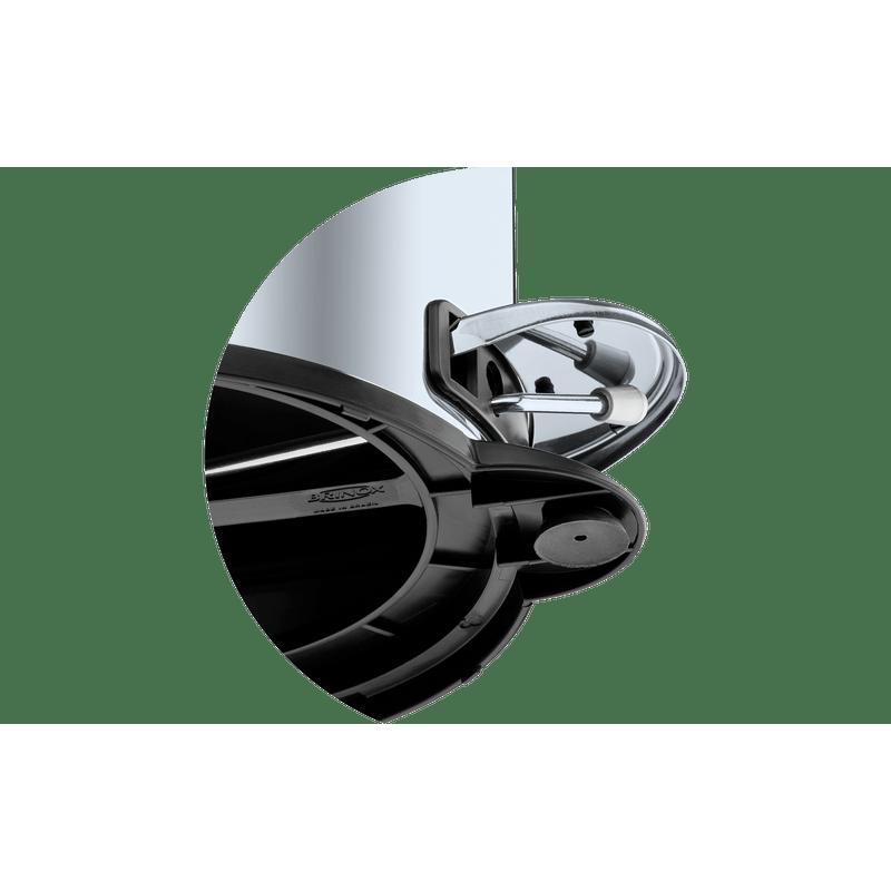 Lixeira-Inox-com-Pedal-e-Balde-5-Litros---Decorline-Lixeiras-Ø-20-x-30-cm