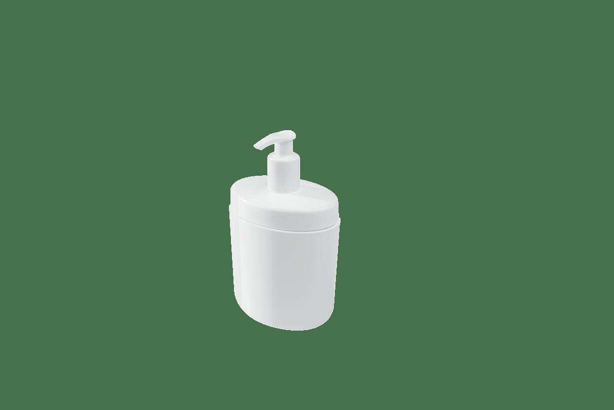 O porta-sabonete líquido da linha Full traz modernidade para o banheiro com seu formato arredondado e capacidade para 450ml. É prático de usar, além de otimizar os espaços. A biqueira está posicionada na parte da frente, impedindo o acúmulo de sabonete no produto. Um jeito especial de deixar tudo organizado. Com cartela de cores variada, é perfeito para combinar com qualquer banheiro.