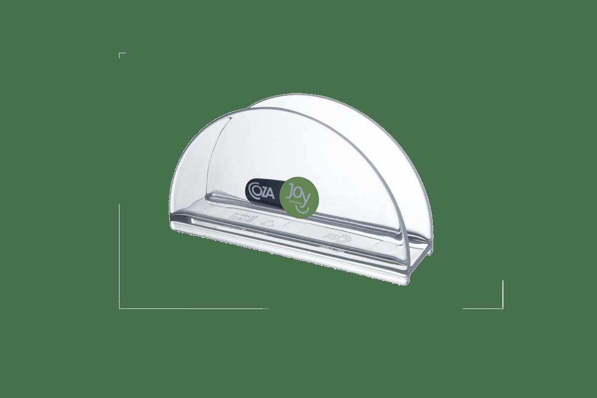 Com design clean, o Porta-guardanapos Retrô combina com diversas decorações. A peça transparente e texturizada, disponível em sete cores, adiciona um toque de modernidade e estilo a sua cozinha ou mesa. Prático, o suporte é leve e fácil de guardar.