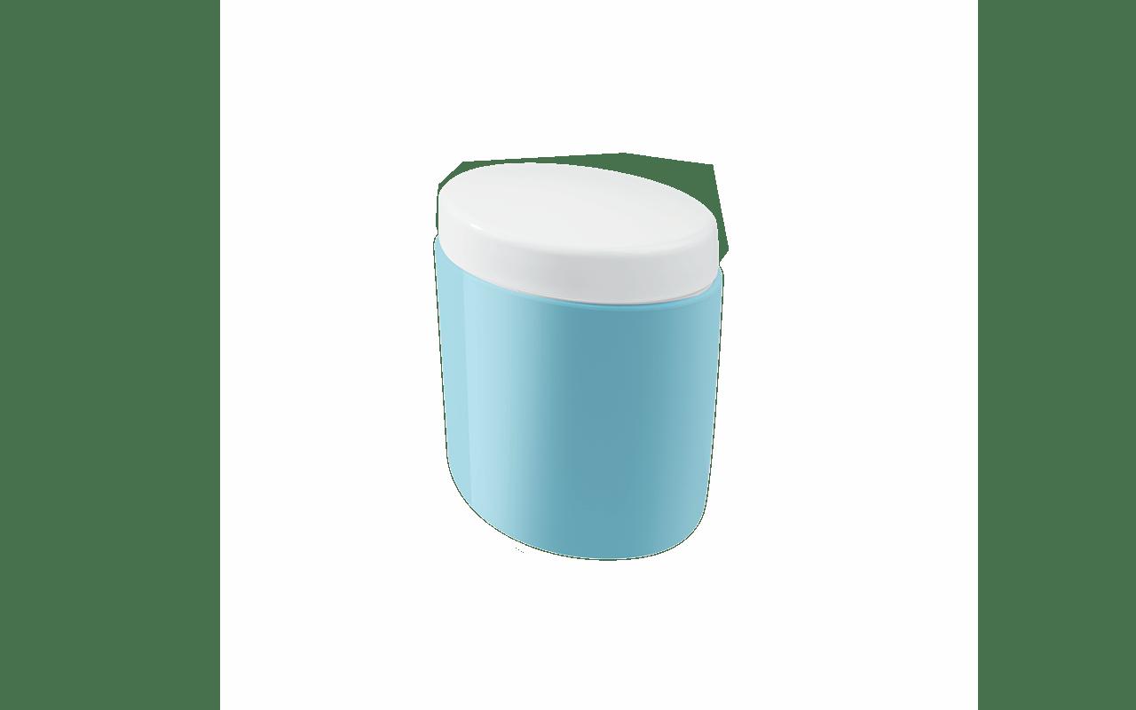 O porta-algodão Full é prático, otimiza espaços e é fácil de limpar. A tampa pode ser retirada, o que permite inúmeras formas de uso e encaixes, como guardar maquiagens, cremes em sachês, alicates, demaquilantes, aparelhos de barbear e o que você inventar. Um jeito especial de deixar tudo organizado! Com várias opções de cores, é perfeito para combinar com qualquer banheiro.