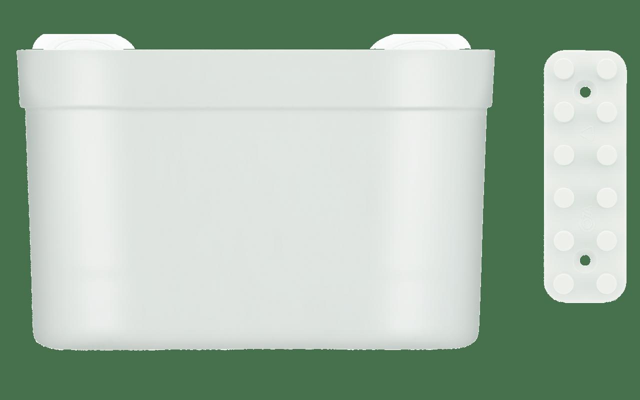 Onde todo mundo vê um espaço em branco, agente vê ideias incríveis para você sair do chão. Com essa lógica, a Coza traz para o seu portfólio a linha Loft Up. Pode ser jardim, organizador de utensílios de cozinha, porta objetos, ou o que sua criatividade decidir. O kit com o Organizador Grande + Barra é composto por um Organizador de tamanho grande, que possui  21 x 16 x 9 cm + uma Barra Pequena de 12 x 4 x 2,5 cm, e capacidade para 1,7 kg. A fixação é feita através de duas buchas e dois parafusos que também são entregues com esse mix. Com essa peça versátil, não faltarão motivos para ousar na decoração e organização dos espaços.