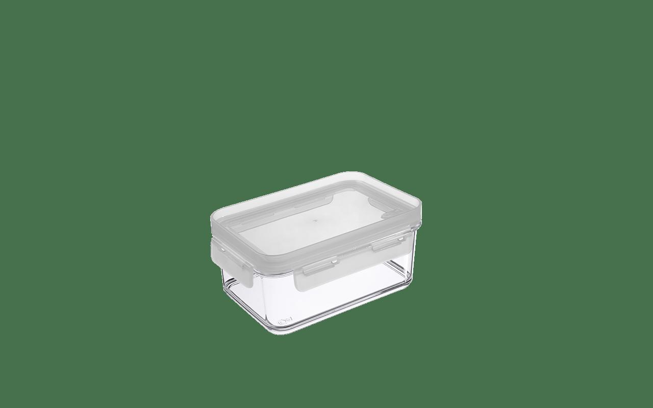 Deixar sua cozinha bonita e organizada ficou mais fácil. O Pote Hermético Mod de 250 ml Coza é perfeito para armazenar alimentos no armário, freezer ou geladeira. Sua tampa com vedação de silicone ajuda a conservar o alimento e é perfeita para o transporte, sem riscos de vazamentos. Pode ser levado ao micro-ondas por até dois minutos. Outra vantagem é que os potes da linha Mod podem ser empilhados formando módulos, ocupando menos espaço e deixando o ambiente mais organizado.