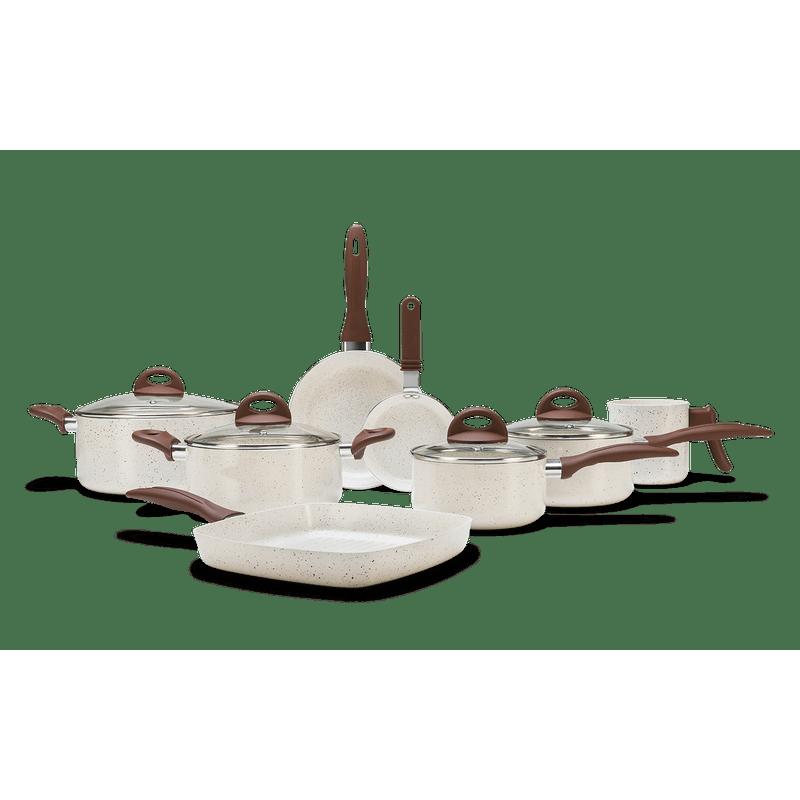 a029d275a Loja Brinox - Jogo de Panelas 8 Peças - Ceramic Life Smart Plus ...