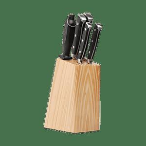 Conjunto-facas-6-pecas-com-cepo-Infinity---Brinox