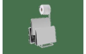 Papeleira-com-Revisteiro---Piazza-16-x-185-x-50-cm---Brinox