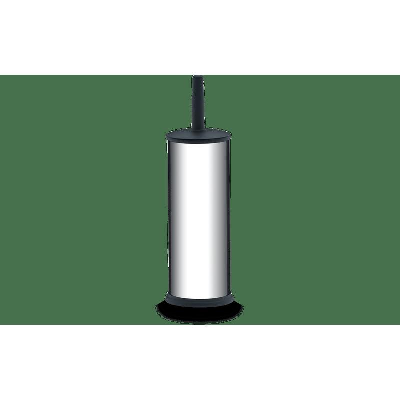 Suporte-Inox-com-Escova-para-Banheiro---Izy-Ø-105-x-39-cm---Brinox