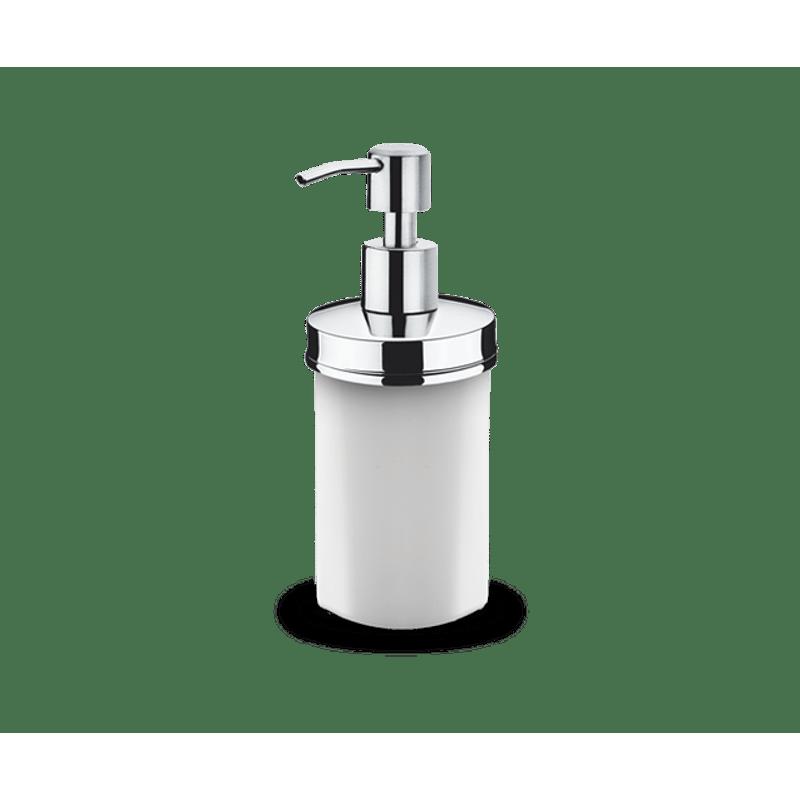 Porta-Sabonete-Liquido-Inox---Decorline-Banheiro-Ø-75-x-17-cm-250-ml---Brinox