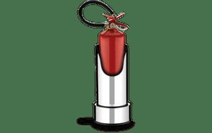 Suporte-com-Base-para-Extintor-de-Incendio---Decorline-Lixeiras-Ø-25-x-497-cm---Brinox