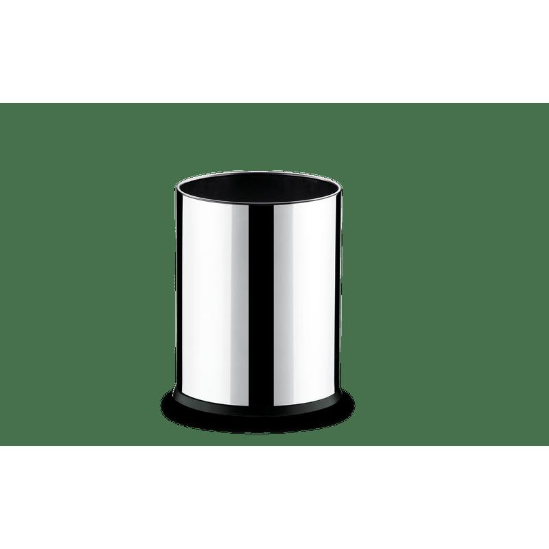 Cesto-Inox-45-Litros---Decorline-Lixeiras-Ø-17-x-22-cm---Brinox