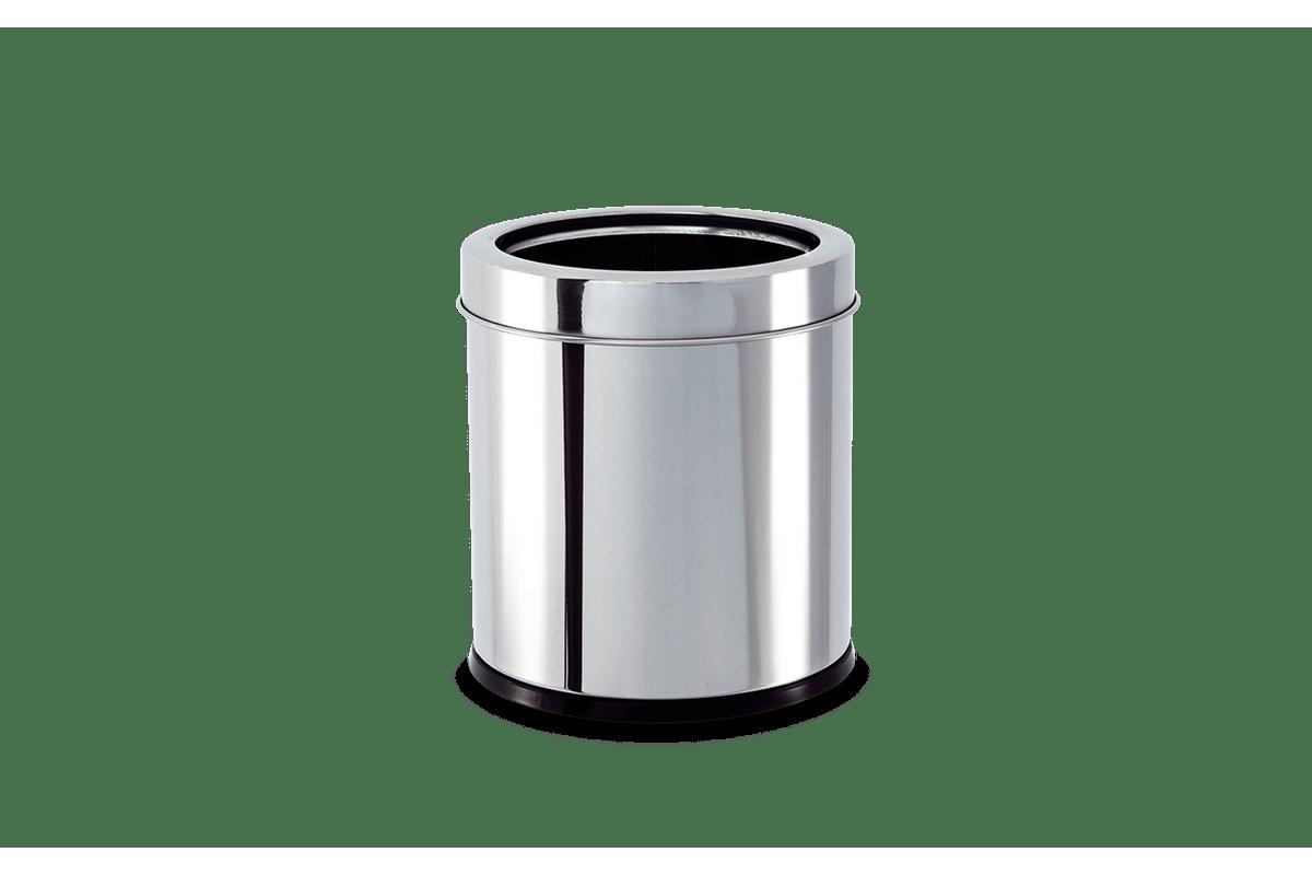 Lixeira-Inox-com-Aro-32-Litros---Decorline-Lixeiras-Ø-155-x-17-cm---Brinox
