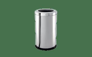 Lixeira-Inox-com-Aro-212-Litros---Decorline-Lixeiras-Ø-25-x-46-cm---Brinox