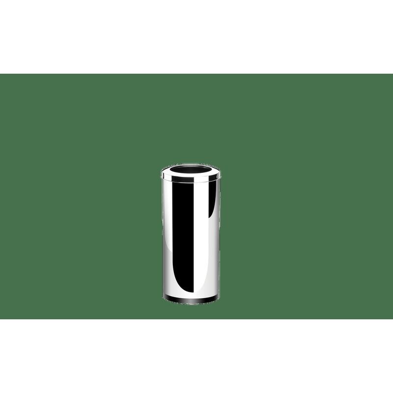 Lixeira-Inox-com-Aro-2817-Litros---Decorline-Lixeiras-Ø-25-x-60-cm---Brinox