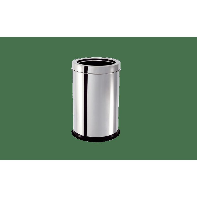 Lixeira-Inox-com-Aro-78-Litros---Decorline-Lixeiras-Ø-185-x-29-cm---Brinox