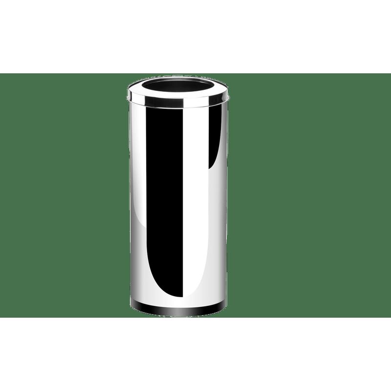 Lixeira-Inox-com-Aro-47-Litros---Decorline-Lixeiras-Ø-30-x-70-cm---Brinox