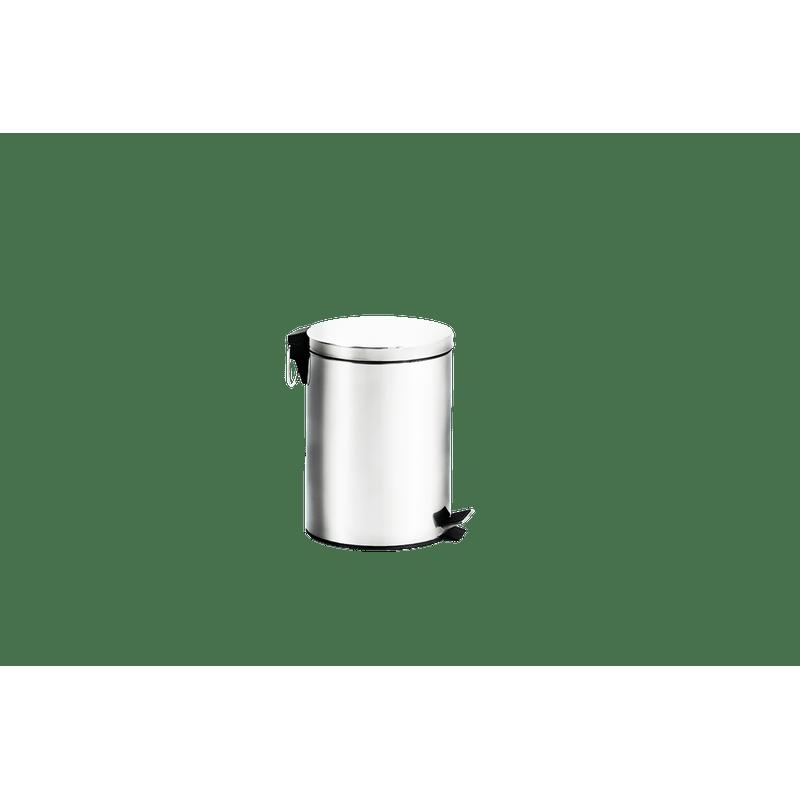 Lixeira-Inox-com-Pedal-e-Balde---Standard-Ø-169-x-255-cm---Brinox
