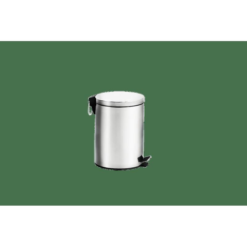 Lixeira-Inox-com-Pedal-e-Balde---Standard-Ø-205-x-275-cm---Brinox