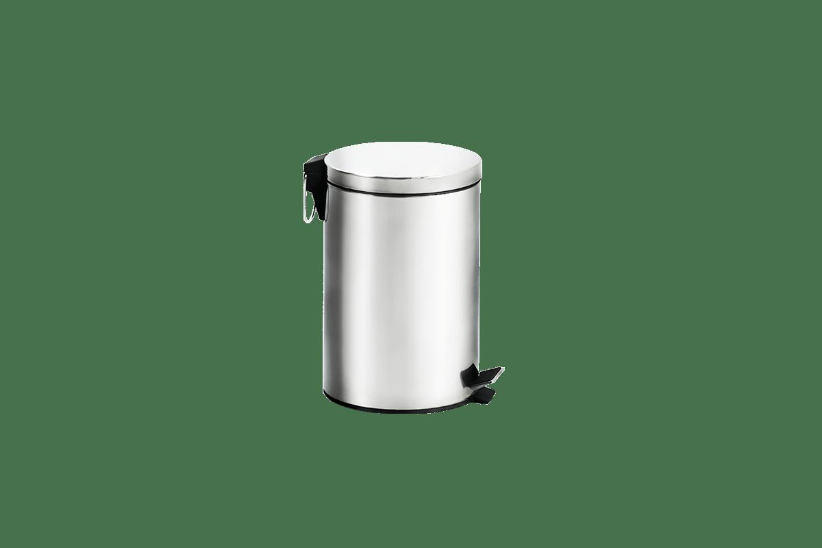 Lixeira-Inox-com-Pedal-e-Balde---Standard-Ø-25-x-40-cm---Brinox