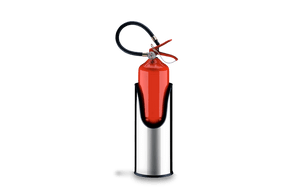 Suporte-Redondo-para-Extintor-de-Incendio---Decorline-Lixeiras-Ø-17-x-405-cm---Brinox