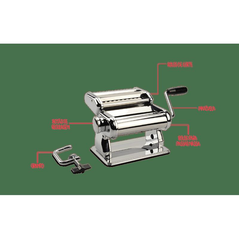Maquina-para-macarrao-inox---Utilidades-Verona-35-x-20-x-155-cm---Brinox