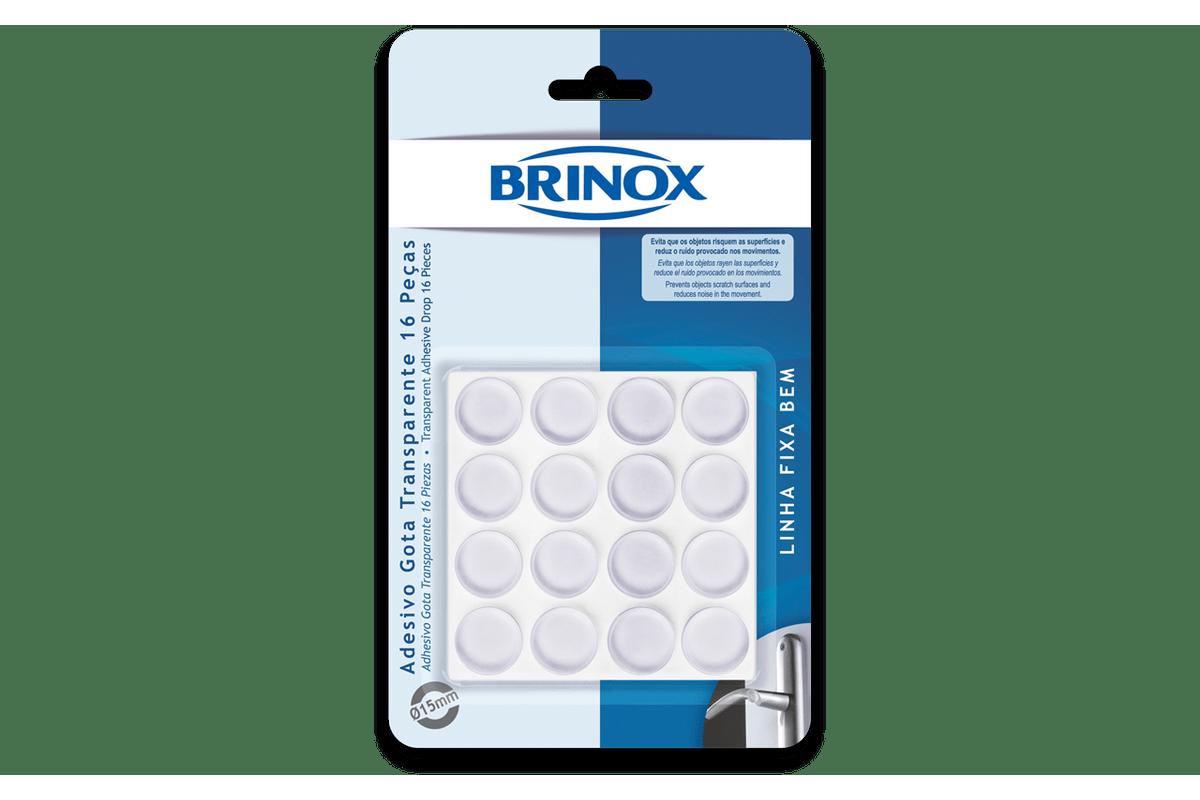 Adesivo-Gota-Transparente-16-Pecas-Ø-15-cm---Brinox