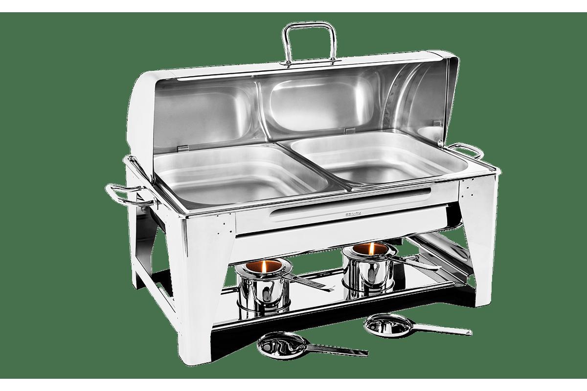 Chafing-Dish-com-Banho-Maria-com-Cuba-1-2---Savoy-24-x-67-x-36-cm---Brinox