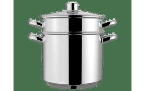 Espagueteira-Savoy---Brinox-Caldeirao-Ø20-x-17cm-5L-X-COZI-20-x-168cm-48L---Brinox