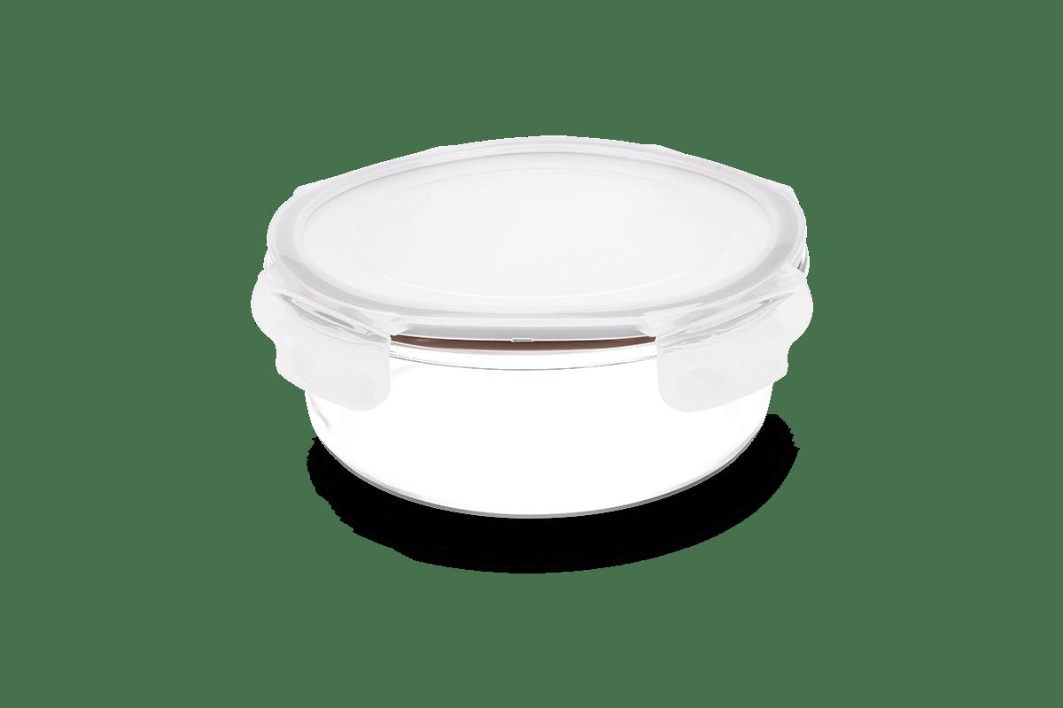 Pote-Redondo-Hermetico-Lock-Stock-200-Ml-Brinox-Ø115x115x56-cm---Brinox