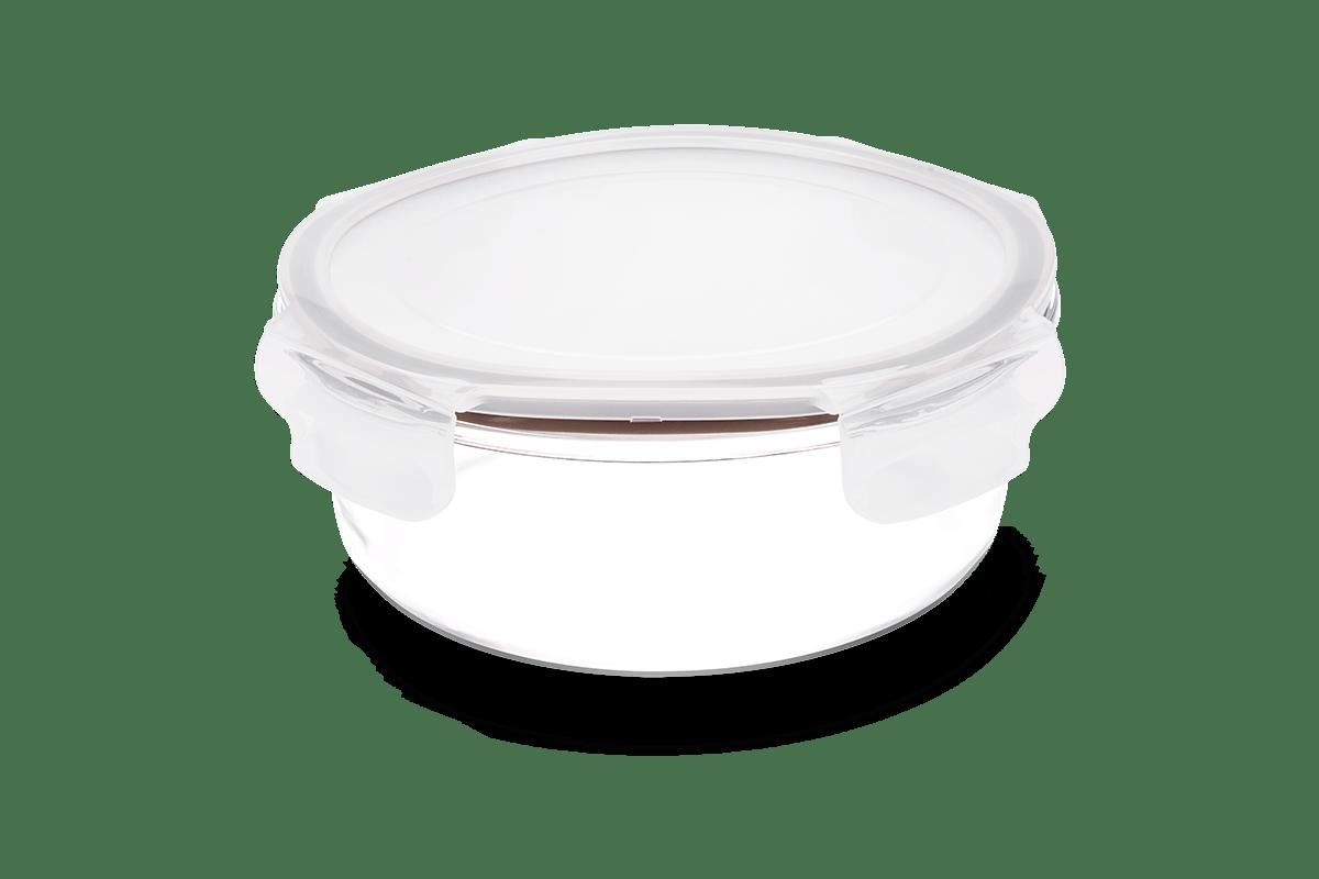 Pote-Redondo-Hermetico-Lock-Stock-620-Ml-Brinox-Ø158x158x7-cm---Brinox