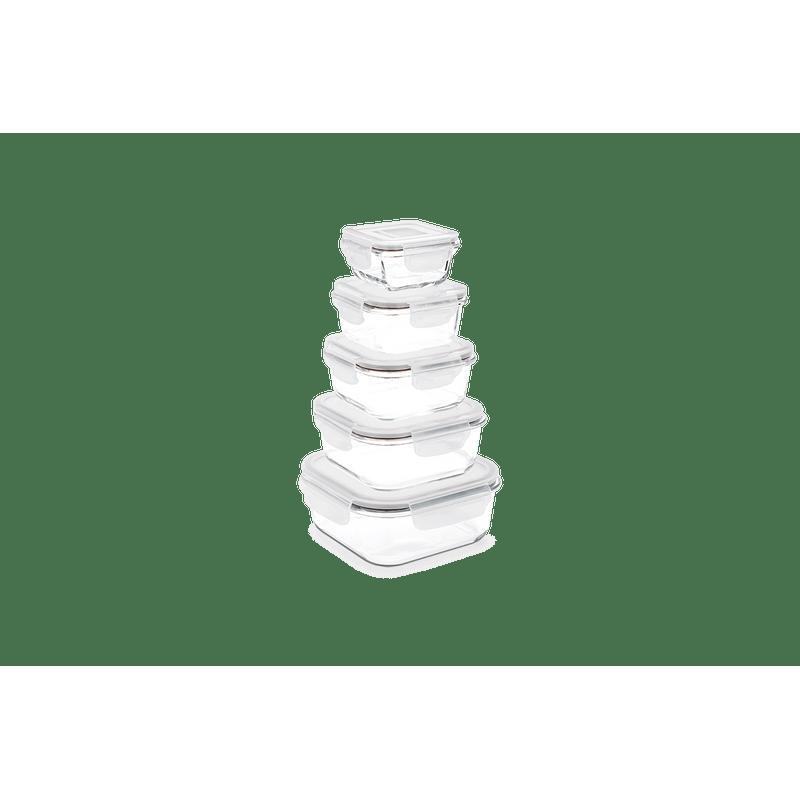 Pote-Quadrado-Hermetico-Lock-Stock-140-Ml-Brinox-101x101x52-cm---Brinox