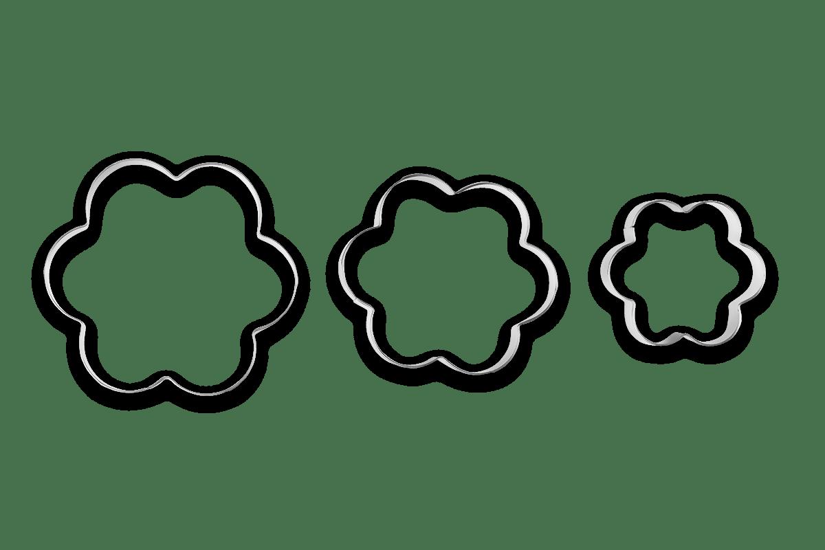 Conjunto-3-pecas-Cortador-Biscoito-Flor-Glace---Brinox---Brinox